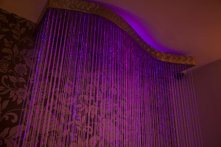 Small corona wave effect chandelier fiber optic lighting kits related products mozeypictures Images