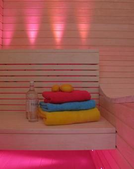 fiber optic sauna lighting kit