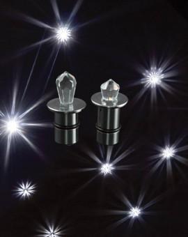 fiber optic crystal downlights